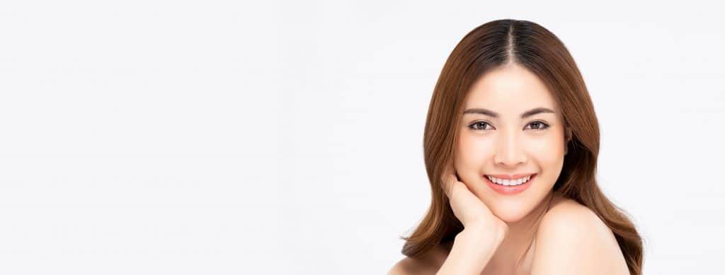 woman smile orthodontics